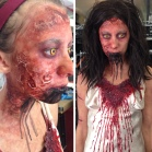 """""""Demon Mia"""" for the Evil Dead Maze at Universal Studios Halloween Horror Nights (Hollywood) 2013"""