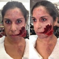 """""""Demon Olivia"""" for the Evil Dead Maze at Universal Studio's Halloween Horror Nights (Hollywood) 2013"""