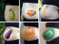 Pregnancy Belly Paint